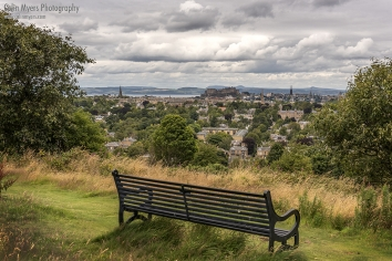 Edinburgh Skyline From Blackford Hill