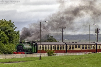 Bo'ness & Kinneil Railway - Steam Engine