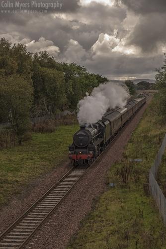 Borders Railway - LMS Lancashire Fusilier (45407)
