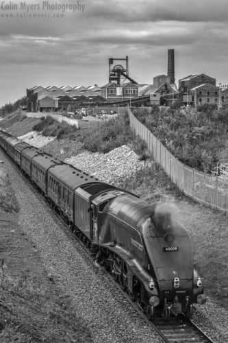 Borders Railway - Union of South Africa (60009)