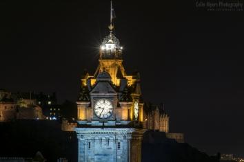 Edinburgh - Balmoral Hotel Clock Tower