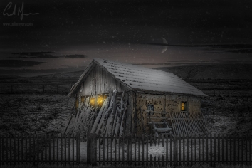 """""""The Hut"""" - Digital Painting/Artwork (Colin Myers)"""