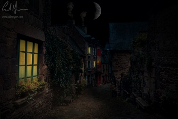 """""""Old Town Street"""" - Digital Painting/Artwork (Colin Myers)"""