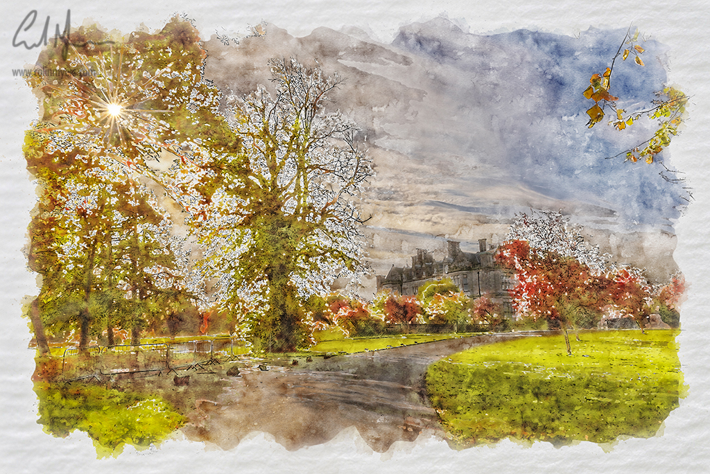 Whitehill House (Digital Painting) - Digital Painting/Artwork (Colin Myers)
