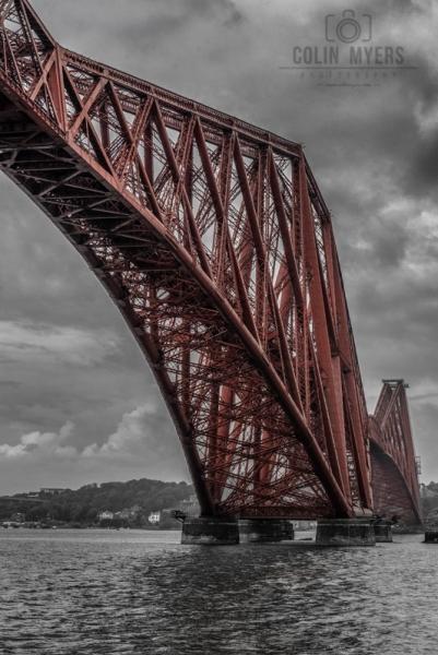03 Forth Bridge (Under)