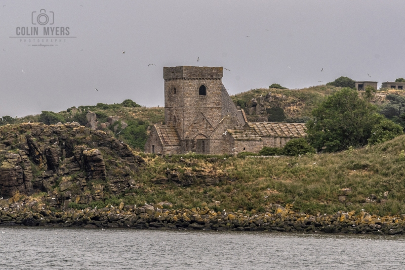 08 Inchcolm Abbey (From Forth)