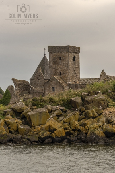 09 Inchcolm Abbey (From Forth)
