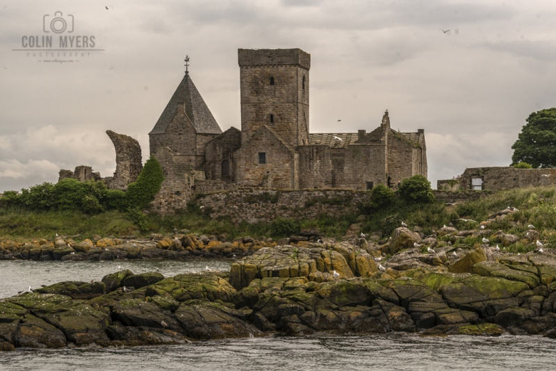10 Inchcolm Abbey (From Forth)