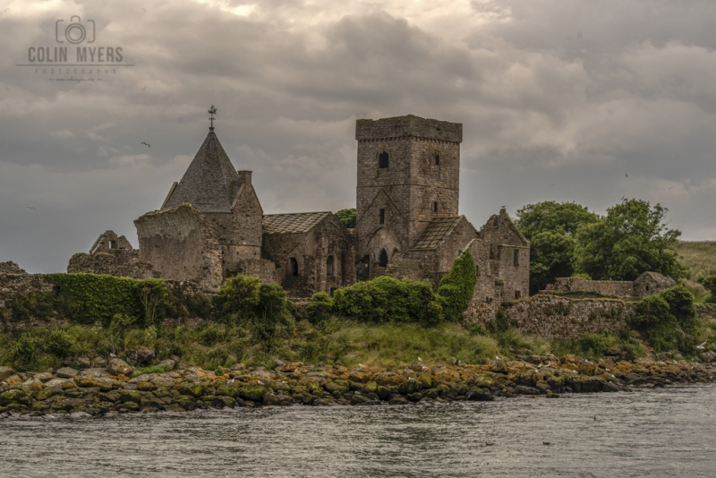 11 Inchcolm Abbey (From Forth)