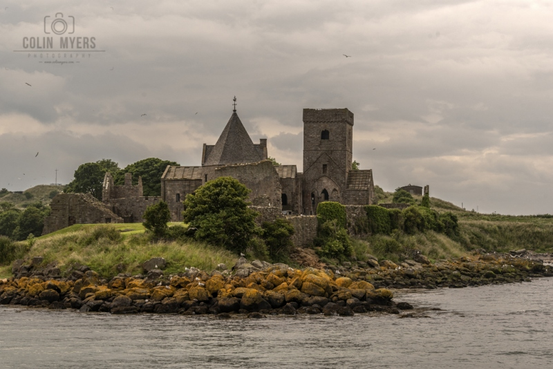 12 Inchcolm Abbey (From Forth)