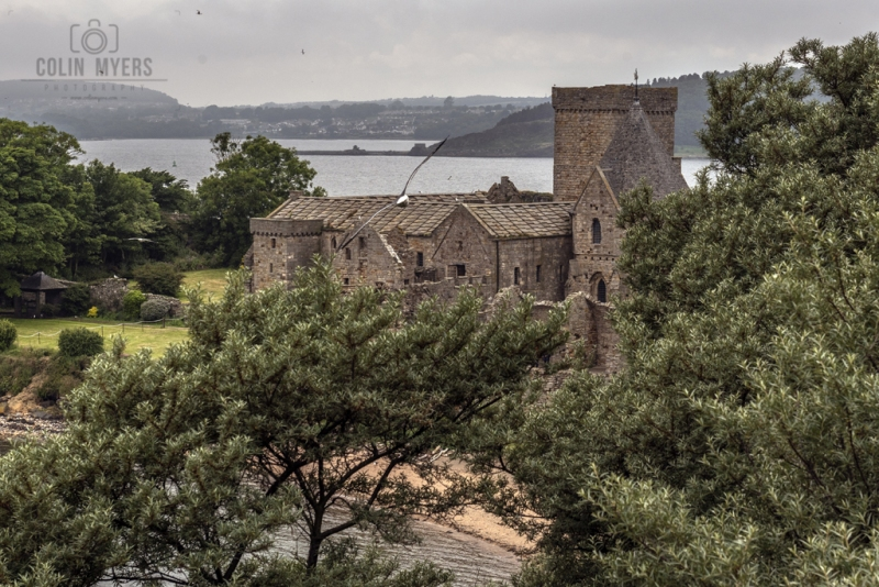 27 Inchcolm Abbey (From On High)