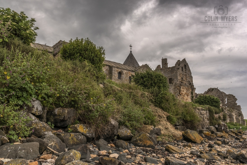 30 Inchcolm Abbey From Beach