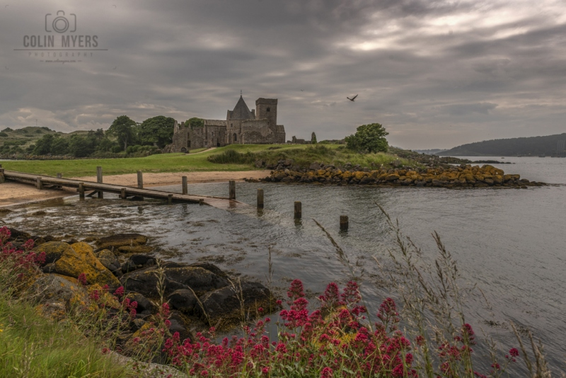 38 Inchcolm Abbey & Flowers
