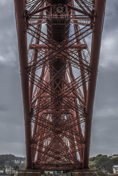 45 UNDER The Forth Bridge