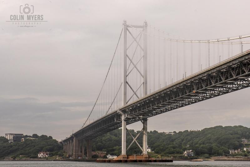 50 Forth Road Bridge Mist