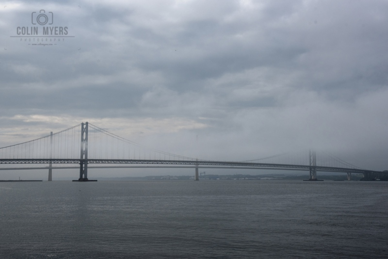 55 Forth Road Bridge (From Boat)