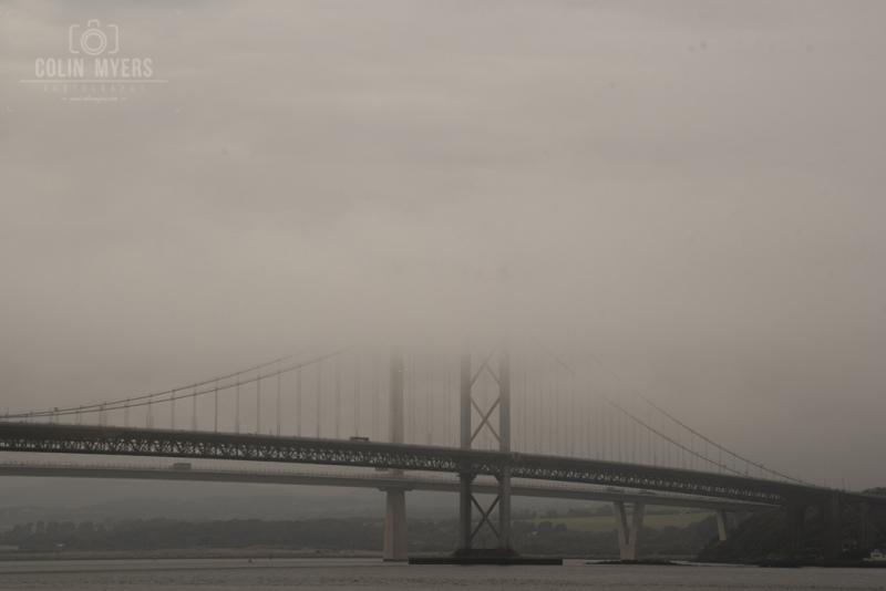 59 Forth Road Bridge Mist