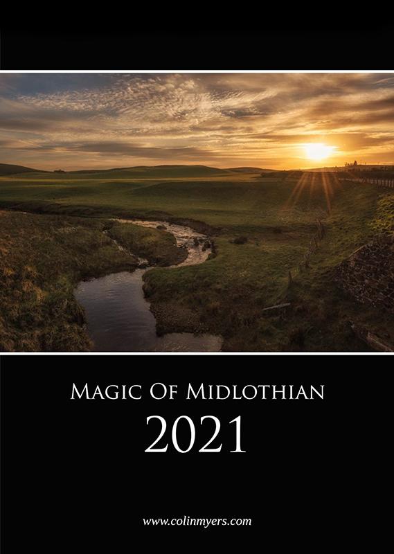 Magic of Midlothian Calendar 2021 - Cover