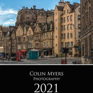 Old Edinburgh Calendar 2021 - Cover
