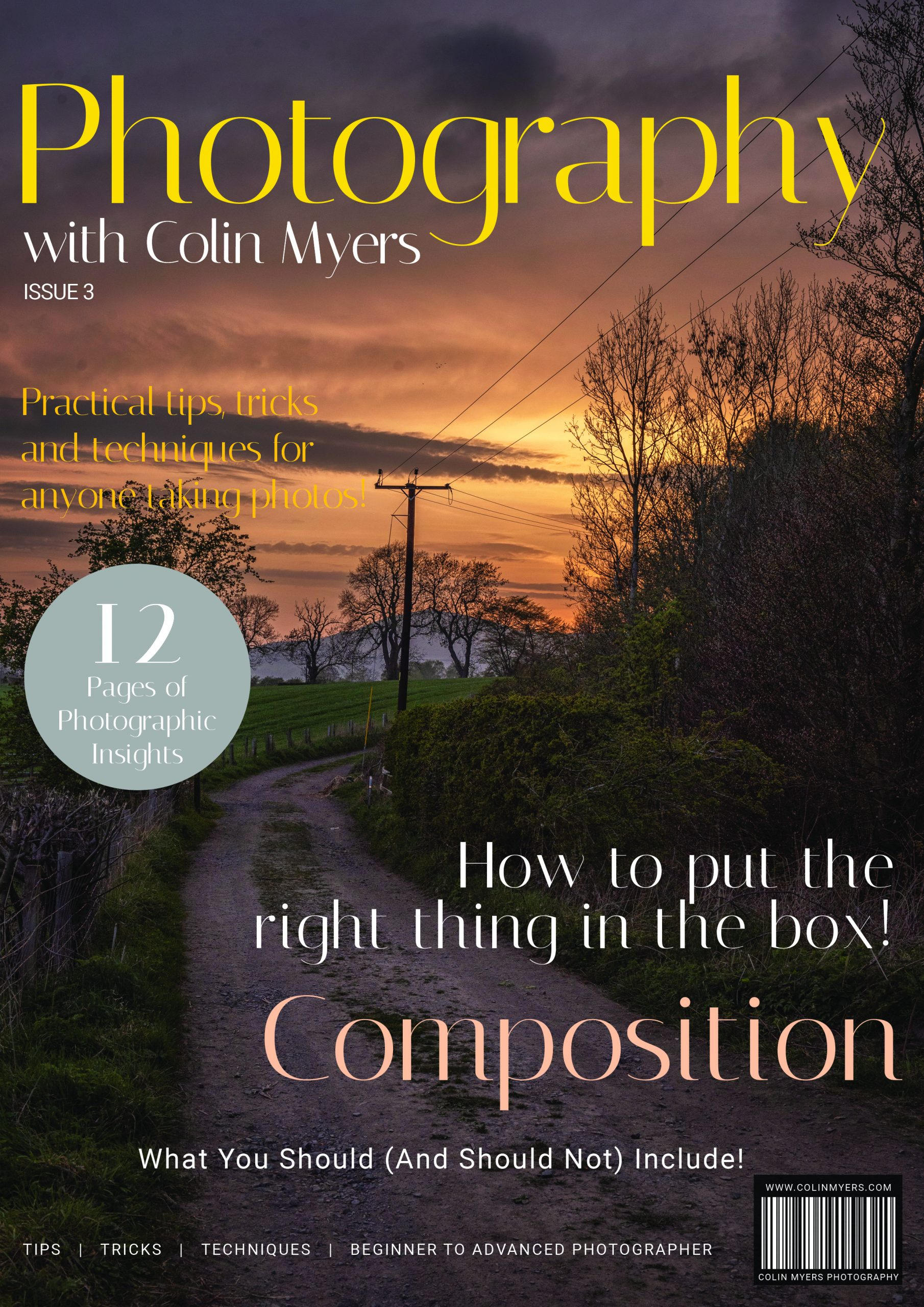 Photography With Colin Myers - Issue 3